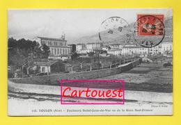 CPA 83 TOULON ֎  Faubourg Saint-jean Du Var Vu De La Gare Sud-france - Toulon
