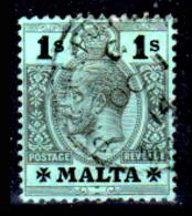 Malta-073 - Emissione 1913-19 (o) Used - Carta Bianca Al Verso - Senza Difetti Occulti. - Malta