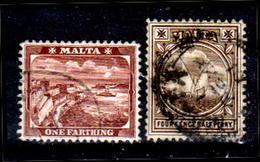 Malta-048 - Emissione 1899-1900 (o) Used - Senza Difetti Occulti. - Malta
