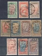 TUNISIE COLIS POSTAUX PETIT LOT SUPERBES OBLITERATIONS - Tunisie (1888-1955)