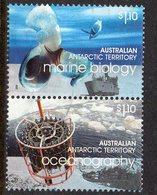 AAT, 2008  $1.10 POLAR YEAR PAIR F.USED - Australian Antarctic Territory (AAT)