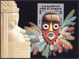 UMM AL QIWAIN 1972 Mi-Nr. Block 52 ** MNH - Umm Al-Qaiwain