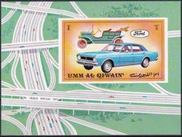 UMM AL QIWAIN 1972 Mi-Nr. Block 53 ** MNH - Umm Al-Qaiwain