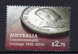 AUSTRALIA, 2010  $2.75 COINAGE F.USED - 2010-... Elizabeth II