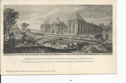 CHATEAU DE MONTCEAUX   Dessin Gravure - Châteaux