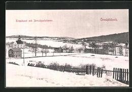 AK Örnsköldsvik, Tingshuset Och Järnvägsstationen - Suède