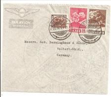Hekla 1948 F293 & 284 Volcano-Vulkan-Volcan - Briefe U. Dokumente