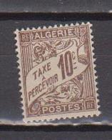 ALGERIE         N°  YVERT  :   TAXE 2   NEUF AVEC  CHARNIERES      ( Ch 1/22  ) - Algérie (1924-1962)