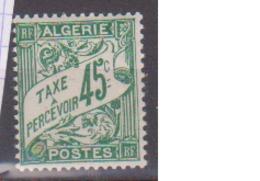 ALGERIE         N°  YVERT  :   TAXE 6   NEUF AVEC  CHARNIERES      ( Ch 1/22  ) - Algérie (1924-1962)