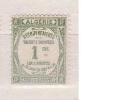 ALGERIE         N°  YVERT  :   TAXE 15   NEUF AVEC  CHARNIERES      ( Ch 1/22  ) - Algérie (1924-1962)