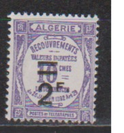 ALGERIE         N°  YVERT  :   TAXE 24   NEUF AVEC  CHARNIERES      ( Ch 1/22  ) - Impuestos