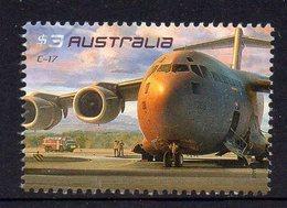 AUSTRALIA, 2011 $3 AIR FORCE PLANE F.USED - 2010-... Elizabeth II