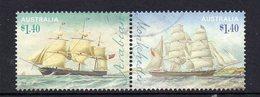 AUSTRALIA, 2015 $1.40 CLIPPER SHIPS PAIR F.USED - 2010-... Elizabeth II