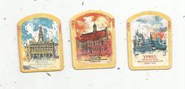 Journée Mai 1917 ,le Devoir Social, Reconstruction Des Foyers Détruits Par La Guerre , St Quentin, Noyon,Ypres,LOT DE 3 - 1914-18
