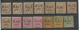 Madagascar, Lot De 14 N° 51 à 55 Neufs* & Obl. Cote YT 182€ - Madagascar (1889-1960)