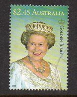 AUSTRALIA, 2002 $2.45 QUEENS BIRTHDAY F.USED - 2000-09 Elizabeth II