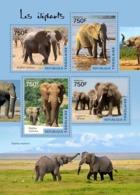 Togo  2014  Fauna  Elephants - Togo (1960-...)