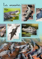 Togo  2014  Fauna  Crocodiles - Togo (1960-...)