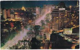 México - Hotel Continental Hilton - Vista Nocturna  - (Mexico) - Mexico