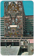 México - Natural Stone Murals - The Communications And The Public Works Secretaries Building  - (Mexico) - Mexico
