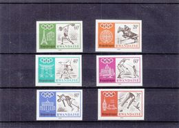 Jeux Olympiques 1968 - Rwanda - COB 263 / 68 ** - MNH - NON Dentelés - Hippisme-judo-escrime-plongeon-saut - Rwanda
