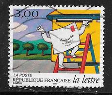 FRANCE 3061 Les Journées De La Lettre Pli Grimpant à L'échelle - France