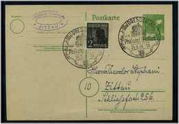 GANZSACHE 1948 Mit Sonderstempel DRESDEN (58509) - Briefmarken