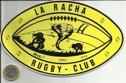 AUTOCOLLANT - RUGBY - LA RACHA RUGBY-CLUB - PUBLICITÉ RENAULT - MEXICO - MEXIQUE - Autocollants