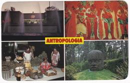 México: Museo Nacional De Antropologia - 4 Views - (Mexico) - Mexico