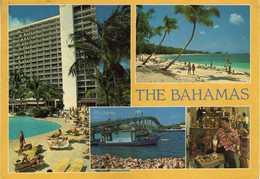 Bahamas Postcard Via Yugoslavia 1986.nice Stamp Motive Fishes - Bahamas