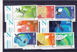 Zaïre - COB 1200 / 7 ** - MNH - Espace - Satellites - Télécommunications - Valeur 7 Euros - 1980-89: Neufs