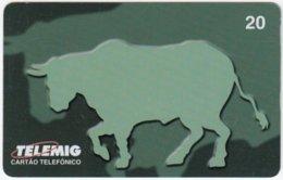 BRASIL G-659 Magnetic Telemig - Animal, Bull - Used - Brésil