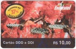 BRASIL G-664 Prepaid Embratel - Used - Brasilien