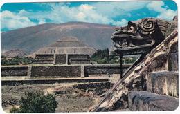 San Juan Teotihuacan - 'Temple Of Quetzalcoatl' - Pyramids Sun And Moon - Zona Arqueologica - (Mexico) - Mexico