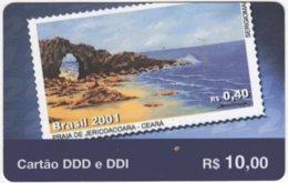 BRASIL G-668 Prepaid Embratel - Collection, Stamp - Used - Brasilien