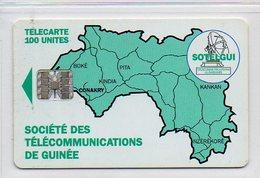 SOTELGUI - 100 UNITES - Guinea