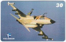 BRASIL H-081 Magnetic Telemar - Military, Aircraft - Used - Brasilien