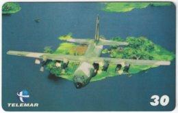 BRASIL H-083 Magnetic Telemar - Military, Aircraft - Used - Brasilien