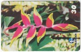 BRASIL H-089 Magnetic Telemar - Plant, Flower - Used - Brasilien