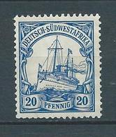 AFRIQUE DU SUD OUEST 1900 . Colonie Allemande. N° 16 . Neuf (*) Sans Gomme . - Colonie: Afrique Sud-Occidentale
