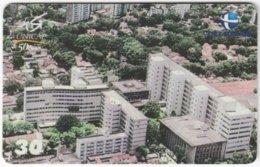 BRASIL H-095 Magnetic Telemar - View, Town - Used - Brasilien