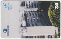 BRASIL H-098 Magnetic Telemar - Architecture, Building - Used - Brasilien