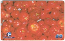 BRASIL H-100 Magnetic Telemar - Plant, Fruit, Acerola - Used - Brasilien