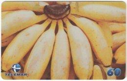 BRASIL H-101 Magnetic Telemar - Plant, Fruit, Banana - Used - Brasilien