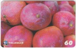 BRASIL H-109 Magnetic Telemar - Plant, Fruit, Pink Sleeve - Used - Brasilien