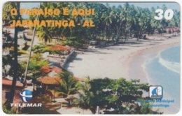BRASIL H-126 Magnetic Telemar - Landscape, Coast - Used - Brasilien