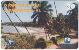 BRASIL H-127 Magnetic Telemar - Landscape, Coast - Used - Brasilien