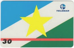 BRASIL H-148 Magnetic Telemar - Flag Of Boa Vista - Used - Brasilien