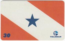 BRASIL H-158 Magnetic Telemar - Flag Of Belem - Used - Brasilien