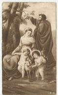 SANTINO SERIE CE 31 PARROCCHIA DI SANTA FRANCESCA ROMANA MILANO 25/1/1931 FESTA ANNUALE DELLA SACRA FAMIGLIA (1471) - Santini